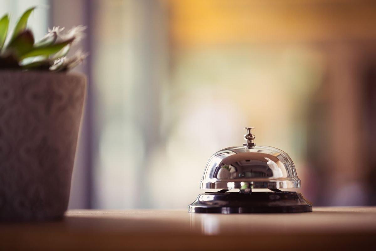 campanella di un hotel